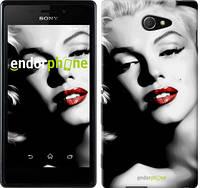 "Чехол на Sony Xperia M2 D2305 Мэрилин Монро ""2370c-60-716"""