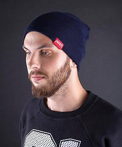 Молодежная темно-синяя шапка Punch - Glory, Dark Blue