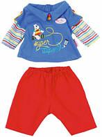 Набор одежды для куклы Baby Born - Малыш на прогулке (красные штаны) (823927-1)