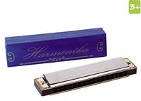 Музыкальный инструмент губная гармошка Harmonika, Goki (UC072)