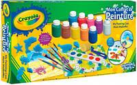 Набор для творчества с красками и штампами, Crayola (54-9039)