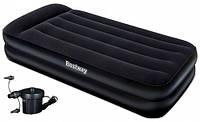 Надувной матрас с электро насосом Bestway 67381 Comfort Quest 203х102х46, фото 1