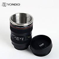 Чашка - термос обьектив кружка мешалка Canon Фотообъектив EF 24 105mm