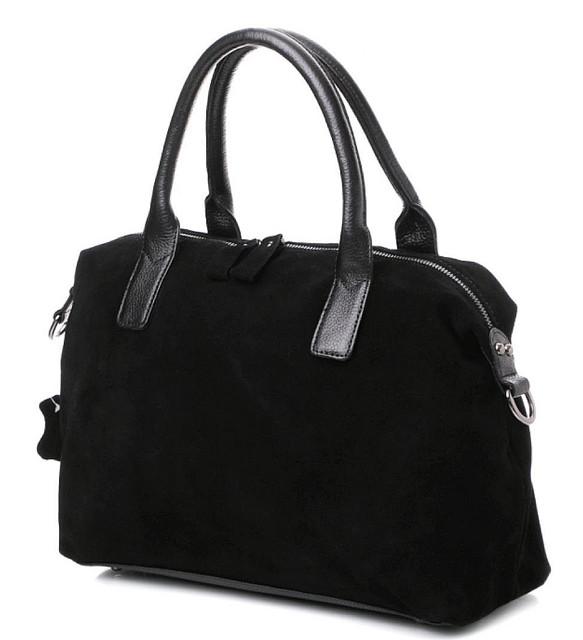 Женские замшевые сумки и клатчи