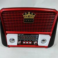Радиоприемник портативная акустика Golon RX 455 S Solar с солнечной панелью