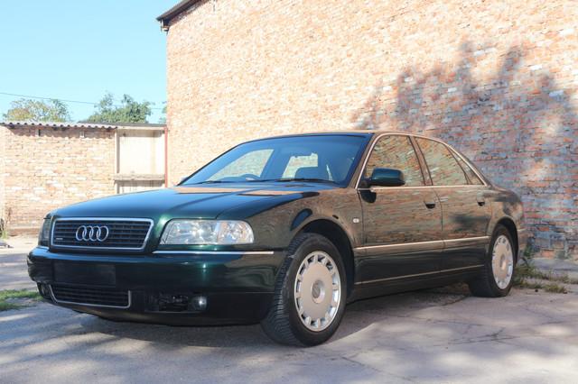 Audi A8 D2 Рестайлинг 2.8 Quattro (AHA) АКПП (EUU) 2001г 255 т.км