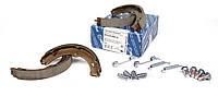 Колодки ручника MB Sprinter/VW Crafter 06- (180x25) с пружинками Meyle