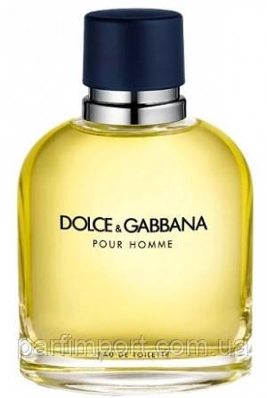 DOLCE & GABBANA pour HOMME EDT 125 ml TESTER туалетная вода мужская (оригинал подлинник  Великобритания)