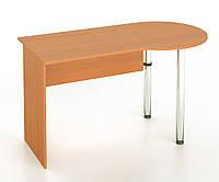 Стол письменный с хромированными ножками, фото 1