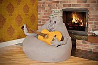 Кресло мешок Ждун из микро-рогожки, фото 1