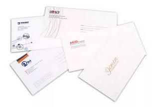 Печать конверта на принтере в Днепре