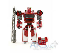 Трансформер Happy Well X-Bot Пожарная Машина (80040)