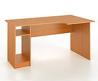 Стол письменный угловой с местом под системный блок, фото 1