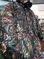 """Костюм зимний (длинная куртка) """"Осенний лес"""", ткань гладкая алова. рр 48"""