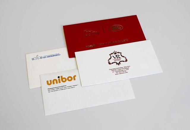 Печать адресов на конвертах в Днепре