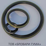 Брудознімач штока армований 40х50х5/7 (ZZ88A)