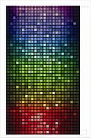 Настенный обогреватель картина Мозаика. Размер 100х57 см., Мощность 400 Вт., макс. темп. 75 С, фото 1
