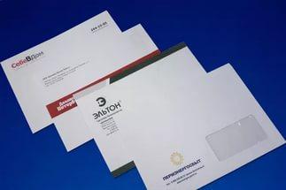 Конверты с логотипом в Днепре