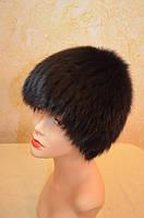 Шапка женская парик, песец