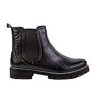 Женские ботинки Max Mayar 696909АU-4_2-4-1 черн. кож., фото 1