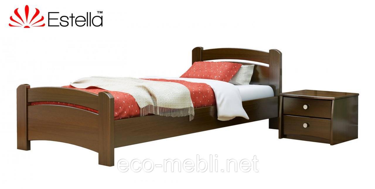 Односпальне ліжко Estella Венеція (Бук)