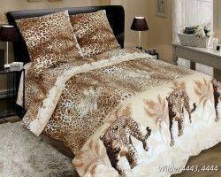 Комплект постельного белья полуторный  WILDER (навол.70*70)