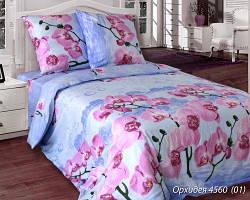 Комплект постельного белья полуторный  ОРХИДЕЯ (навол. 50*70)