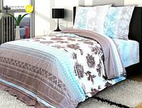 Комплект постельного белья полуторный  АГАТ ПОПЛИН (нав.70*70)