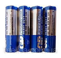 Батарейки GP Power Plus Heavy Duty АА R6 - 1 упаковка (4 шт.)