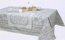 Комплект столового белья  сорт1, цвет133 рис.3 ЛУИЗА (скатерть 150*150 1шт., салф. 48*48 - 6шт.)