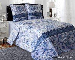 Комплект постельного белья полуторный  ШАНТЕЛЬ (навол.50*70)