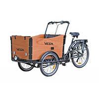 Электровелосипед трехколесный грузовой VEGA Riksha - 1 (Wood)