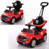 Детский электромобиль 2в1(каталка-толокар) M 3575EL-3,мягкое сиденье