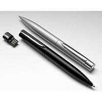 Ручка-флешка металлическая на 8Gb, под нанесение логитипа лазерной гравировкой