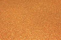 Фоамиран глиттерный 2 мм, 20x30 см, Китай, БРОНЗА, фото 1