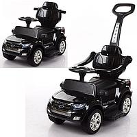 Детский электромобиль 2в1(каталка-толокар) M 3575EL-2,мягкое сиденье