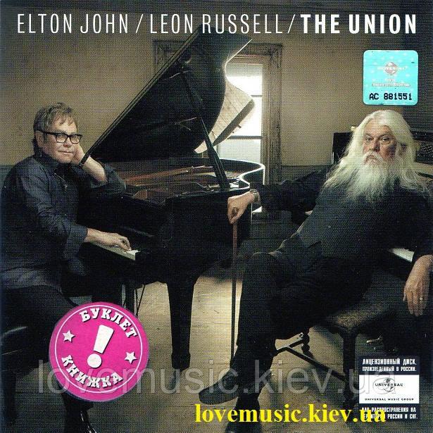 Музичний сд диск ELTON JOHN & LEON RUSSELL The union (2010) (audio cd)
