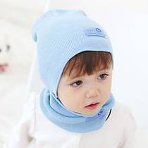 Трикотажные детские шапки