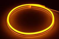 Светодиодная LED лента гибкий неон LED NEON FLEX Y жёлтая 220В 220V