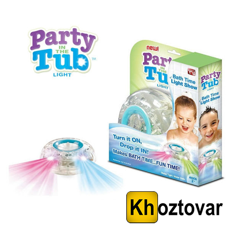 Светящаяся игрушка для купания в ванной Party In The Tub - купить по ...