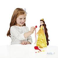 Игрушка Hasbro Кукла Принцесса Белль с длинными волосами и аксессуарами (B5292)