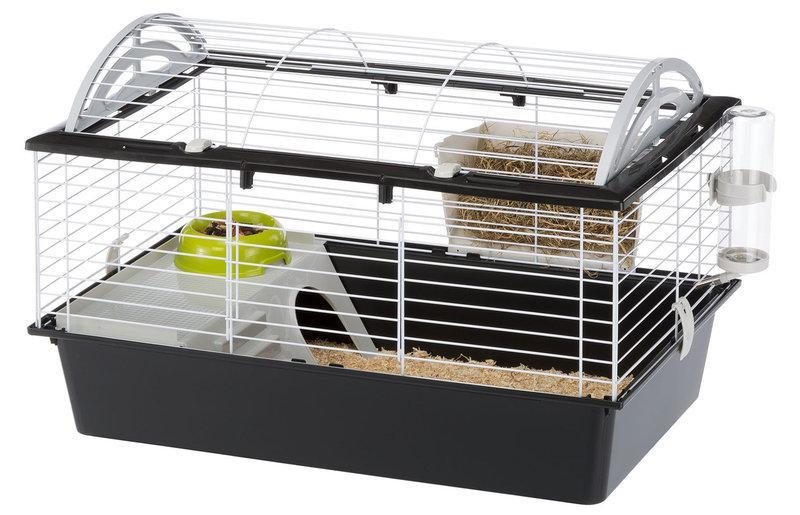 Ferplast Casita 80 Клетка для морской свинки и кролика Чёрный - Ferplast.Kiev - зоотовары для домашних животных в Киеве
