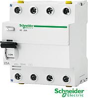 Устройство защитного отключения ILD 4р. 25А АС 30  Schneider Electric(УЗО)