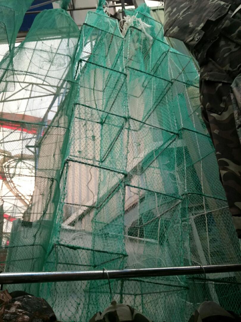 Раколовка кордовая нить 4 метра 22*30см