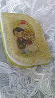 Свадебное мыло с водорастворимой картинкой-2
