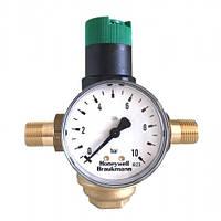 Редуктор давления Honeywell D06F-1/2B + Манометр Honeywell M07M-A10