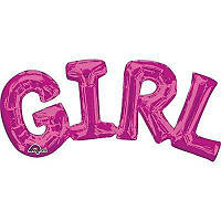 Надпись фольга Girl 010917-521