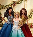 Кукла Барби Праздничная в аква зеленом платье коллекционная Barbie Holiday Doll DGX98, фото 7