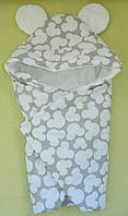 Демисезонный конверт на выписку. Конверт одеяло для новорожденных
