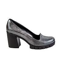 Туфли женские TREND 10-01-12-20-1 сер. кож., фото 1